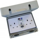 Lewden weather proof 13A RCD safety socket - IP65RCDSW