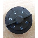 CREDA DAMPER CONTROL KNOB 0850845 *** DISCONTINUED NOW USE 0850846 ***