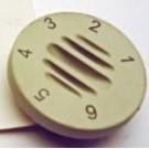 CONTROL KNOB - 9511002 / 83056 / XL9809 / 0870003