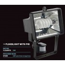 36W Spiral low energy floodlight with PIR IP54 - FLE36WPIR