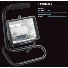 36W Spiral low energy portable floodlight  IP54 - FLE36WP